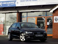 USED 2013 63 AUDI A3 2.0 TDi SPORT 5dr (150) * Sat Nav * *ONLY 9.9% APR with FREE Servicing*