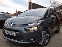 2015 CITROEN C4 PICASSO 2.0 GRAND BLUEHDI EXCLUSIVE PLUS 5d 148 BHP £13995.00