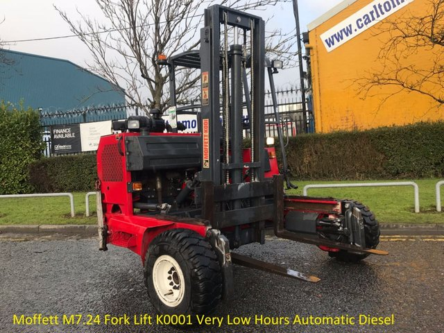 2005 55 MOFFETT ALL MODELS M7.24 Fork Lift K0001 Very Low Hours Automatic Diesel  E340057 Light use Ex Water Authority Free UK Delivery