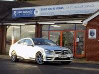 USED 2014 64 MERCEDES-BENZ C CLASS C220 2.1CDi AMG SPORT EDITION PREMIUM PLUS 2dr AUTO *ONLY 9.9% APR*