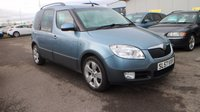 USED 2007 57 SKODA ROOMSTER 1.9 SCOUT TDI 5d 103 BHP LOW DEPOSIT OR NO DEPOSIT FINANCE AVAILABLE.