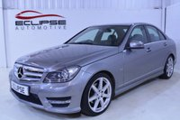 USED 2012 61 MERCEDES-BENZ C CLASS 2.1 C220 CDI BLUEEFFICIENCY SPORT 4d AUTO 168 BHP