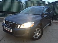 USED 2010 10 VOLVO XC60 2.4 D5 SE AWD 5d AUTO 205 BHP LEATHER PRIVACY PDC FSH NO FINANCE REPAYMENTS FOR 2 MONTHS STC. 4WD. STUNNING BLUE MET WITH PART GREY LEATHER TRIM. ELECTRIC MEMORY SEAT. 17 INCH ALLOYS. COLOUR CODED TRIMS. PRIVACY GLASS. PARKING SENSORS. CLIMATE CONTROL. R/CD PLAYER. MFSW. MOT 12/18. ONE PREV OWNER. FULL SERVICE HISTORY. FCA FINANCE APPROVED DEALER. TEL 01937 849492.