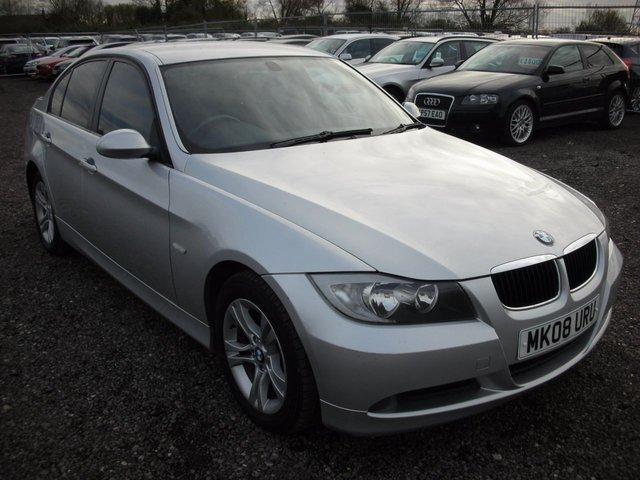 2008 08 BMW 3 SERIES 2.0 318D SE 4d 141 BHP