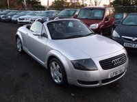 USED 2001 51 AUDI TT 1.8 ROADSTER QUATTRO 2d 221 BHP Drives superbly, Excellent value, Great fuel economy, Excellent service history,