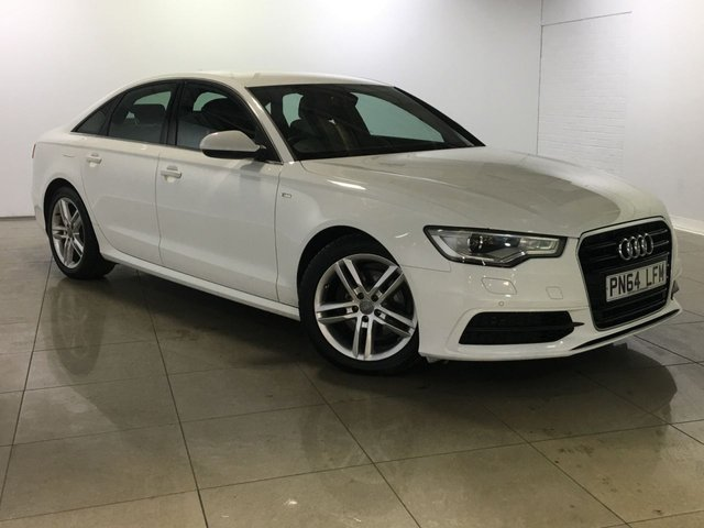 View our 2014 64 AUDI A6 2.0 TDI ULTRA S LINE 4d 188 BHP