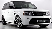 USED 2013 13 LAND ROVER RANGE ROVER SPORT 3.0 SD V6 HSE Black Edition 4X4 5dr Aiuto [8] Autobiography Design Pack