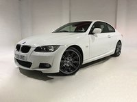 USED 2009 59 BMW 3 SERIES 2.0 320I M SPORT HIGHLINE 2d 168 BHP FULL LEATHER UPHOLSTERY WITH HEATED FRONT SEATS- PARKING SENSORS
