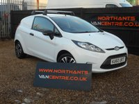 USED 2010 60 FORD FIESTA 1.4 TDCI VAN 3d NO VAT