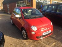 USED 2014 14 FIAT 500 1.2 COLOUR THERAPY 3 DOOR 69 BHP IN RED WITH 34000 MILES IN IMMACULATE CONDITION. APPROVED CARS ARE PLEASED TO OFFER THIS FIAT 500 1.2 COLOUR THERAPY 3 DOOR 69 BHP IN RED WITH 34000 MILES IN IMMACULATE CONDITION INSIDE AND OUT WITH A FULL SERVICE HISTORY,A GREAT LITTLE CAR IDEAL FOR A FIRST CAR.