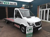 2014 MERCEDES-BENZ SPRINTER 2.1 313 CDI EX LWB 130 BHP RECOVERY TRUCK 17ft BEAVERTAIL LOW MILES FSH £16600.00