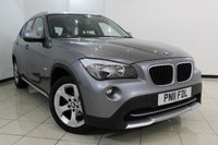 USED 2011 11 BMW X1 2.0 XDRIVE18D SE 5DR 141 BHP FULL BMW SERVICE HISTORY + AIR CONDITIONING + PARKING SENSOR + MULTI FUNCTION WHEEL + AUXILIARY PORT + RADIO/CD + 17 INCH ALLOY WHEELS