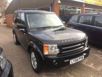 USED 2015 58 LAND ROVER DISCOVERY 3 4.4 5 DOOR AUTOMATIC SE 7 SEATER IN BLACK WITH 125000 MILES IN IMMACULATE CONDITION. APPROVED CARS ARE PLEASED TO OFFER THIS  LAND ROVER DISCOVERY 3 4.4 PETROL 5 DOOR AUTOMATIC SE 7 SEATER IN BLACK WITH 125,000 MILES FROM NEW WITH CREAM LEATHER AND REAR DVD ENTERTAINMENT ALONG WITH A FULL LAND ROVER MAIN DEALER SERVICE HISTORY WITH 10 SERVICE STAMPS IN THE SERVICE BOOK, AN IMMAUKLATE 4X4 PETROL AND VERY RARE.