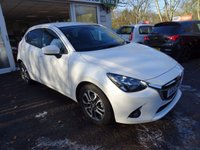 USED 2015 MAZDA 2 1.5 SPORT SKYACTIV 5dr AUTOMATIC Very Low Mileage, One Lady Owner from new, Pearlescent White Finish. NEW MOT (to be completed). Automatic