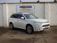 USED 2014 64 MITSUBISHI OUTLANDER 0.0 PHEV GX 3H 5d AUTO 162 BHP Full History Hybrid 148+MPG 0% Deposit Finance Available