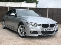 USED 2014 64 BMW 3 SERIES 2.0 318D M SPORT 4dr AUTO HUGE Spec, Sat Nav, Leather