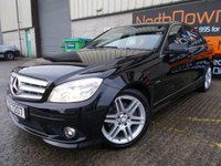 2011 MERCEDES-BENZ C CLASS 2.1 C220 CDI BLUEEFFICIENCY SPORT 4d 170 BHP £9995.00