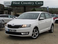 USED 2014 64 SKODA RAPID 1.6 SPACEBACK SE TECH TDI CR 5d 89 BHP Only 1 Owner From New, VAT Q