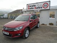 2012 VOLKSWAGEN TIGUAN 2.0 SE TDI BLUEMOTION TECHNOLOGY 5d 138 BHP £11595.00