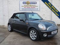 USED 2010 60 MINI CONVERTIBLE 1.6 ONE 2d 98 BHP Comprehensive Dealer History 0% Deposit Finance Available