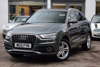 USED 2012 12 AUDI Q3 2.0 TDI 140PS S-LINE  FSH ** FRONT & REAR PARK AID ** CRUISE CONTROL ** BLUETOOTH ** IPOD