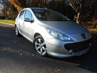 USED 2007 07 PEUGEOT 307 1.6 S 5d 108 BHP *Very Low Mileage*