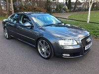 USED 2010 10 AUDI A8 3.0 TDI QUATTRO DPF SPORT 4d AUTO 229 BHP LOCAL CAR IN EXCELLENT CONDITION WITH FULL SERVICE HISTORY
