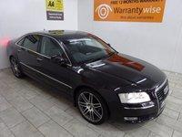 2009 AUDI A8 3.0 TDI QUATTRO DPF SPORT 4d AUTO 229 BHP £10500.00