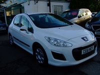 USED 2011 61 PEUGEOT 308 1.6 HDI ACCESS 5d 92 BHP