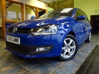 USED 2010 10 VOLKSWAGEN POLO 1.2 MODA A/C 5d 70 BHP