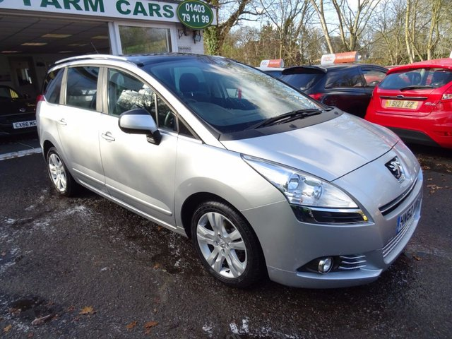 2012 62 PEUGEOT 5008 1.6 HDI STYLE 5d 112 BHP 7 SEATER