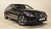 USED 2014 14 MERCEDES-BENZ E CLASS 2.1 E220 CDI SE 4d AUTO 168 BHP + 1 OWNER +  SAT NAV + AIR CON + SERVICE HISTORY + HEATED LEATHER SEATS