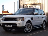 USED 2011 61 LAND ROVER RANGE ROVER SPORT 3.0 TDV6 HSE 5d AUTO 245 BHP Full Service History 5 Stamps, Looks superb in white, Massive amount of spec.