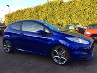 2014 FORD FIESTA 1.6 ST-2 3d 180 BHP 3 MAIN DEALER SERVICES £10000.00