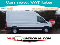 2014 FORD TRANSIT 2.2 350 L3 H3 125BHP (LONG AND HIGH) £10250.00