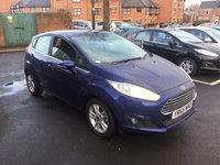 USED 2015 65 FORD FIESTA 1.6 ZETEC 5d AUTO 104 BHP FIESTA WITH FORD WARRANTY , AIR CONDITIONING, FRONT PARKING SENSORS, HEATED FRONT SCREEN, AND REAR PARKING SENSORS...EXCELLENT FUEL ECONOMY..LOW CO2 EMISSIONS..LOW ROAD TAX..FULL HISTORY..ONLY 4598 MILES FROM NEW!!