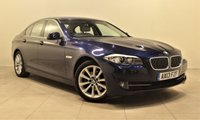 USED 2013 13 BMW 5 SERIES 2.0 520D SE 4d AUTO 181 BHP + 1 PREV OWNER  + AIR CON + AUX + BLUETOOTH + SERVICE HISTORY
