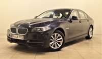 USED 2014 64 BMW 5 SERIES 2.0 518D SE 4d 148 BHP + 1 OWNER +  SERVICE HISTORY + + AIR CON + AUX + BLUETOOTH