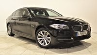 USED 2014 14 BMW 5 SERIES 2.0 518D SE 4d 141 BHP + 1 OWNER +  SERVICE HISTORY + AIR CON + AUX + BLUETOOTH