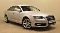USED 2011 11 AUDI A6 2.0 TDI SE 4d AUTO 168 BHP + 2 PREV OWNER + SAT NAV + AIR CON + LEATHER SEATS