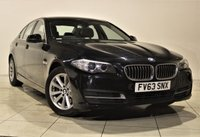 USED 2013 63 BMW 5 SERIES 2.0 518D SE 4d AUTO 141 BHP + 1 OWNER +  SERVICE HISTORY + + AIR CON + AUX + BLUETOOTH