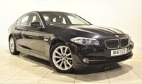 USED 2011 61 BMW 5 SERIES 2.0 520D SE 4d AUTO 181 BHP + 1 PREV OWNER  + AIR CON + AUX + BLUETOOTH + SERVICE HISTORY