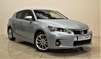 USED 2012 62 LEXUS CT 1.8 200H SE-L PREMIER 5d AUTO 136 BHP + 1 OWNER FROM NEW  +  AIR CON + AUX + BLUETOOTH