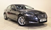 USED 2014 63 JAGUAR XF 2.2 D LUXURY 4d AUTO 200 BHP + 1 OWNER +  SAT NAV + AIR CON + AUX + BLUETOOTH + DAB RADIO + MORE
