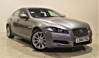 USED 2014 64 JAGUAR XF 2.2 D PREMIUM LUXURY 4d AUTO 200 BHP + 1 OWNER +  SAT NAV + AIR CON + AUX + BLUETOOTH + DAB RADIO + MORE