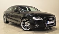 USED 2011 11 AUDI A5 3.0 SPORTBACK TDI QUATTRO S LINE 5d AUTO 240 BHP + 2 PREV OWNER + SAT NAV + AIR CON + LEATHER SEATS