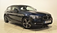 USED 2014 14 BMW 1 SERIES 2.0 116D SPORT 3d 114 BHP + 1 OWNER FROM NEW  +  AIR CON + AUX + BLUETOOTH