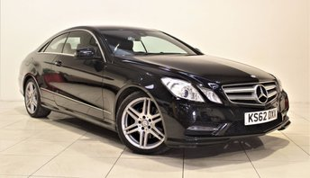 2013 MERCEDES-BENZ E-CLASS 2.1 E250 CDI BLUEEFFICIENCY S/S SPORT 2d AUTO 204 BHP £13985.00