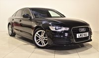USED 2012 12 AUDI A6 2.0 TDI S LINE 4d 175 BHP +  SAT NAV + AIR CON + SERVICE HISTORY + HEATED LEATHER SEATS