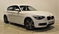 USED 2013 63 BMW 1 SERIES 2.0 116D SPORT 5d 114 BHP + 1 OWNER +  SERVICE HISTORY + + AIR CON + AUX + BLUETOOTH